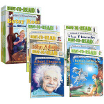 准备阅读系列美国人物的童年 英文原版绘本 Childhood of Famous Americans 12册盒装分级读