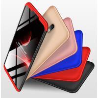 小米红米8手机壳 redmi8保护套 红米8全包边防摔磨砂男女时尚潮牌创意拼接撞色外壳硬壳