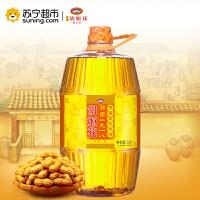 【苏宁超市】胡姬花特香花生油5L压榨食用油
