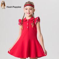 【3件3折:89元】暇步士童装夏季时尚POLO连衣裙