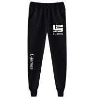 篮球运动休闲裤球星科比詹姆斯库里青少年学生时尚运动裤小脚卫裤 X