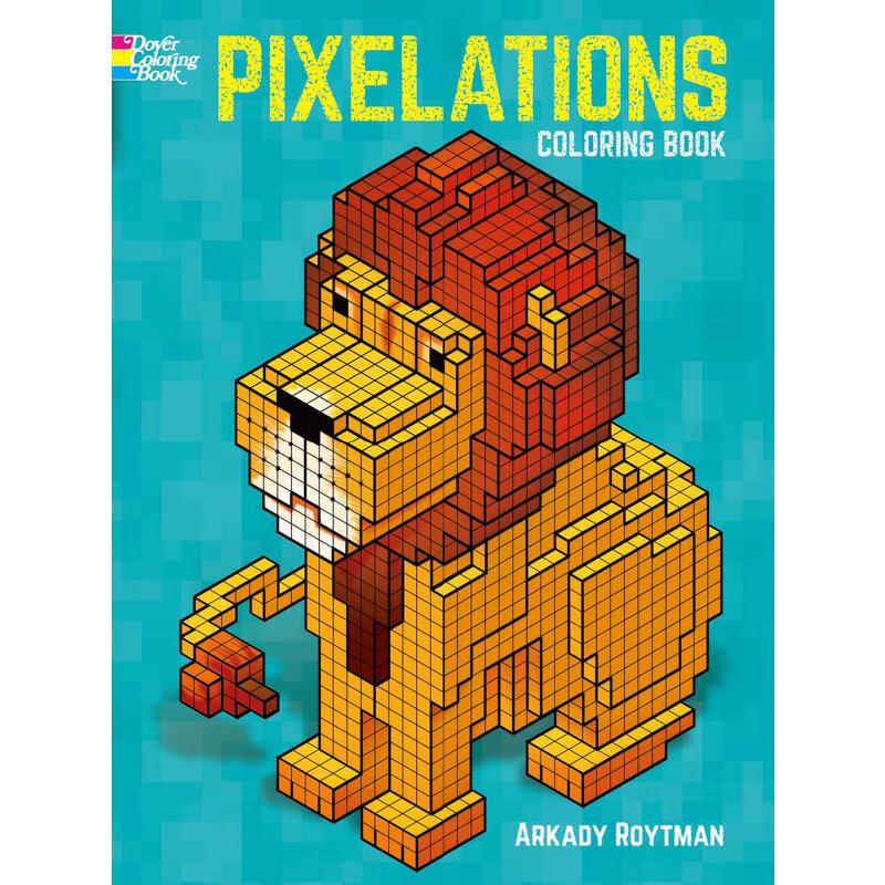 Pixelations Coloring Book 按需印刷商品,15天发货,非质量问题不接受退换货。