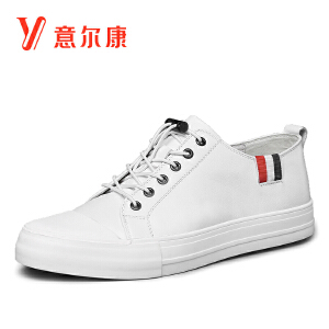 意尔康男鞋时尚潮流休闲平底板鞋男男士休闲鞋
