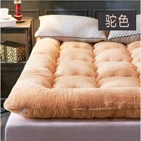加厚羊羔绒榻榻米床垫保暖床褥 1.8m单双人床垫褥子 垫被1.2米1.5