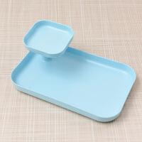 桌面收纳筐化妆品多层塑料盒办公杂物大号创意整理盒