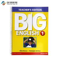 Big English 朗文培生原装进口幼儿英语教材Teacher's Edtion 1级别教师用书