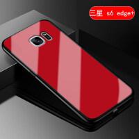三星S6edge手机壳sm-g9250保护套曲面S6edge+硅胶软边潮男女款简约g9280全包ga 【三星s6edg