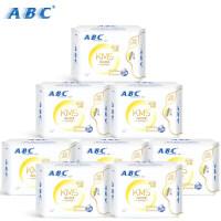 ABC卫生巾超吸纤薄棉柔日用240mm8片装蓝芯瞬吸防漏姨妈巾K11