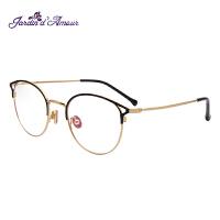 Jardin d'amour眼镜框女复古文艺圆框猫眼明星同款防蓝光配镜眼镜架男JA943