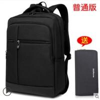 时尚商务背包男士双肩包韩版潮流旅行包时尚简约女学生书包休闲电脑包