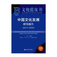 文化蓝皮书:中国文化发展研究报告(2017-2020)