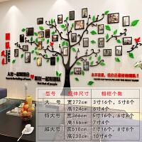 亚克力3d立体墙贴纸公司企业文化照片墙办公室励志团队标语装饰画 团队照片墙 黑+红+绿
