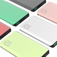 BaaN 铝合金双向QC3.0快充10000毫安大容量USB便捷移动电源充电宝