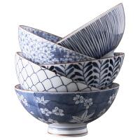 米饭碗陶瓷碗家用吃饭组合套装套碗餐具