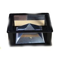 20180522090746831全息3D投影仪ipad平板电脑 三角金字塔成像 裸眼3d4D创意礼品 深灰色 塑料支