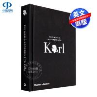 英文原版 卡尔的世界:卡尔・拉格斐的机智和智慧 The World According to Karl 老佛爷 香奈儿