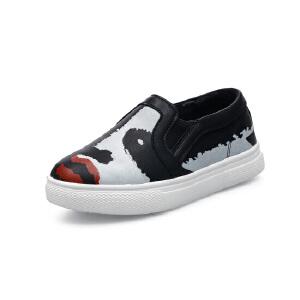 比比我时尚舒适男女休闲运动板鞋一脚蹬童鞋