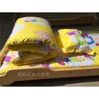 幼儿园被子三件套六件套含芯 婴儿午睡被子厚 棉儿童被褥子 1.35m(4.5英尺)床