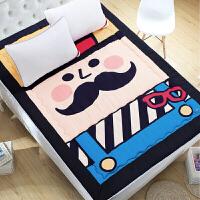 卡通大象榻榻米床垫床褥双人1.5M床加厚床垫1.2m (1.2床)120×200cm 单人床5斤