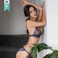 【韩国直邮】半透蕾丝清爽性感内衣套装 DOROSIWA_03 Siris Brarette lingerie set