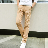 K091P35 七彩裤长裤男士休闲长裤男