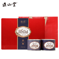 正山堂茶�I 1604正山小�N�t茶特�茶�~�Y盒�b桐木�P200g