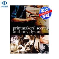 现货 Printmakers' Secrets 版画家的秘密 英文原版 平装 Anthony Dyson 安东尼・戴森