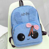 新款背包 蝴蝶结双肩包女式卡通甜美韩版女包学生书包