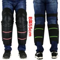 冬季摩托车护膝电动车保暖加厚护膝PU电瓶车男女护腿骑车防风防寒