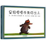 【邓超微博推荐】安徒生金奖是谁嗯嗯在我的头上精装版儿童绘本0-3-5-6岁故事书书籍 宝宝启蒙绘本图画书 幼儿园绘本早