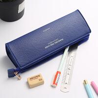 韩国简约大学生小清新可爱文具盒创意笔袋女生高中学生男女铅笔袋