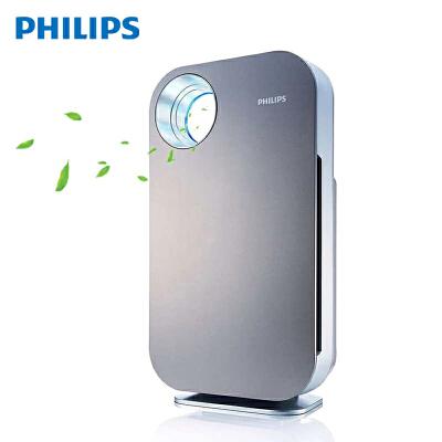飞利浦 (PHILIPS) 空气净化器 除甲醛 除雾霾 除过敏原 除PM2.5 异味 AC4074 银灰色 高效净化除醛,过滤系统,多层持久保护