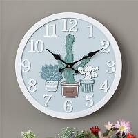 钟表艺术静音挂钟客厅个性创意时尚现代简约欧式大气北欧卧室时钟