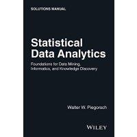 【预订】Statistical Data Analytics - Foundations for Datamining