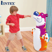 INTEX不倒翁玩具小孩拳击宝宝健身大号儿童锻炼充气早教益智玩具