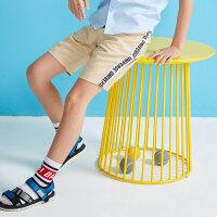 【2件1.5折价:34.4】moomoo童装大童裤子男童短裤夏季潮童新款裤子儿童休闲裤洋气