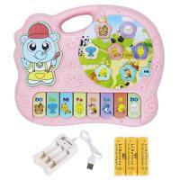 ?儿童电子琴玩具0-1-3岁6-12月女孩婴幼儿宝宝早教音乐玩具琴?