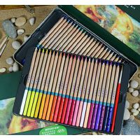MARCO马可雷诺阿水溶性彩色铅笔 3120 -48色 36色 24色 水溶彩铅 铅笔套装铁盒