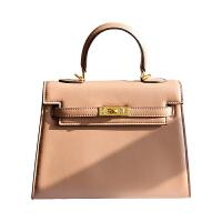 包包女新款欧美女包秋冬手提包休闲包时尚单肩大包 奶茶色
