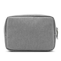 配件收纳包 鼠标数据线移动电源保护袋 优盘耳机充电器整理盒 小号灰色