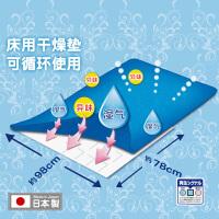 KOKUBO日本进口小久保可再生干燥剂床上被子防霉吸潮湿床垫除湿袋