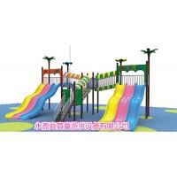 儿童大型水上乐园滑梯塑料玻璃钢小博士喷水滑梯游泳池滑梯 抖音
