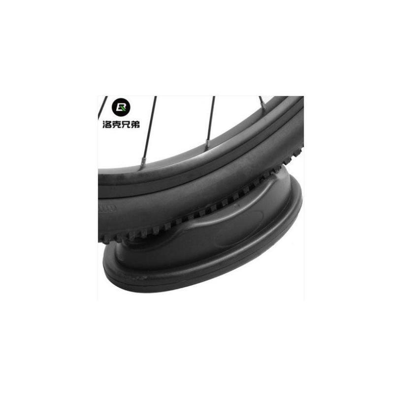 公路山地自行车块室内训练防滑塑料垫骑行台前轮垫固定 品质保证 售后无忧 支持货到付款