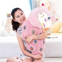 毛绒玩具布娃娃孔雀抱枕靠垫枕儿童可爱创意礼品玩偶公仔生日礼物