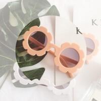 韩国潮可爱糖果色儿童男女童宝宝凹造型防紫外线太阳眼镜度假墨镜