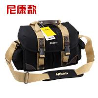 时尚休闲加厚单肩摄影包尼康单反相机包d810 d610 d7100 7200
