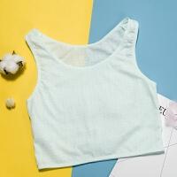 少女文胸发育期内衣9- -岁初中生小学生中大童小背心