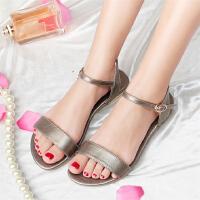 童鞋简约休闲儿童沙滩鞋中大童学生女童凉鞋