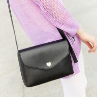 2015夏季新款潮女士桃心包 时尚斜跨单肩包 休闲小包包手机包
