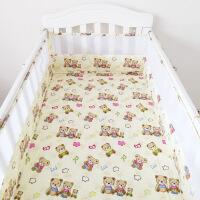 纯棉婴儿床围婴童床上用品夏季透气床围四季通用宝宝防撞床帏定做